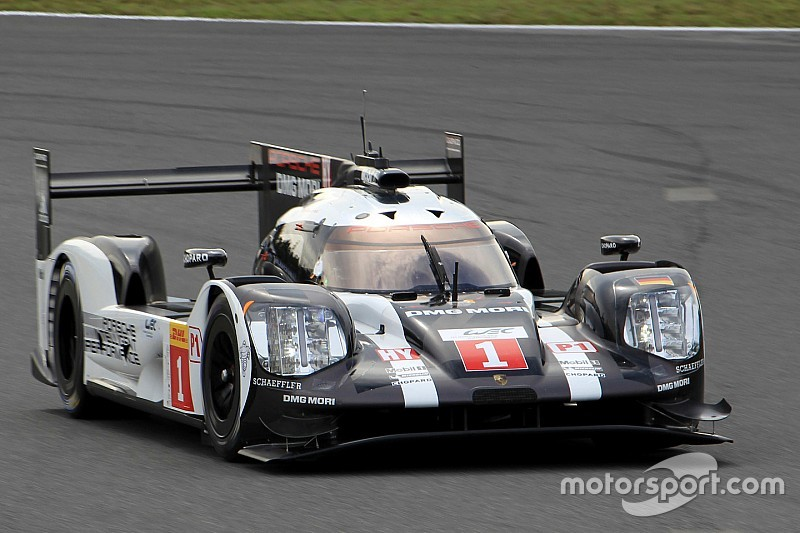 WEC Fuji: Webber op kop met Porsche in tweede training