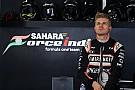 Force India підтверджує розрив контракту Хюлькенберга