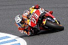 Márquez domina el tercer libre en Japón; dura caída de Lorenzo