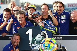 MotoGP Kwalificatieverslag Rossi klopt Marquez in strijd voor de pole-position op Motegi