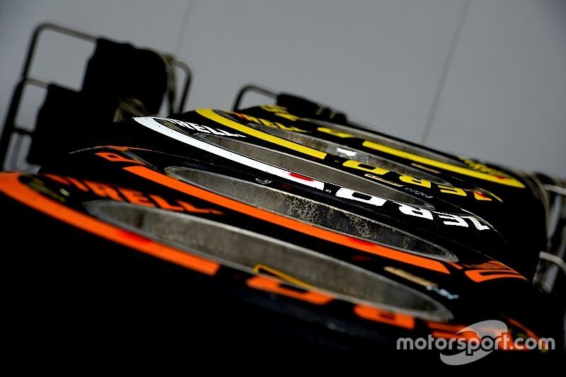 ピレリ、メキシコGPのドライバー別タイヤ選択リストを発表
