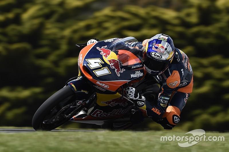 Binder pakt de pole voor Australische GP in veelbewogen kwalificatie