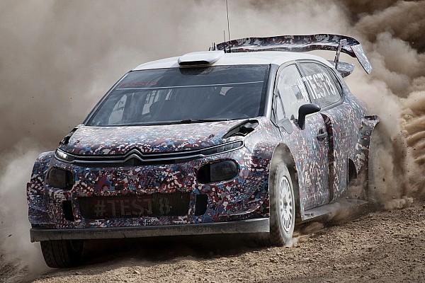 Svelate altre novità della Citroen C3 WRC Plus nei test in Spagna