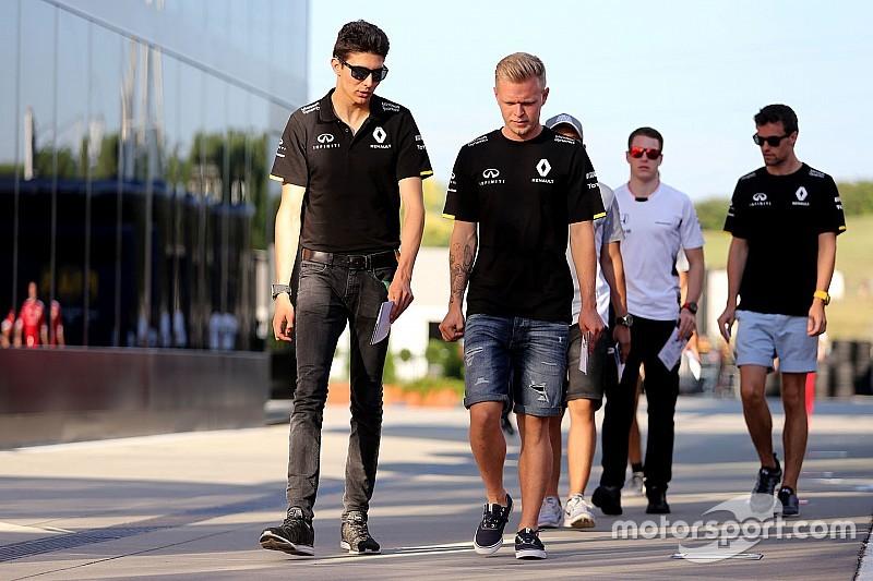 Magnussen y Ocon los favoritos de Renault