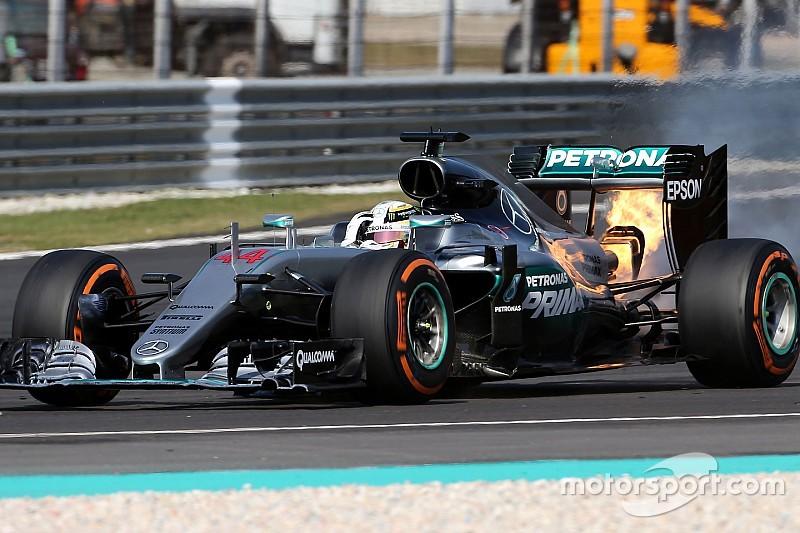 """Mercedes masih """"trauma"""" dengan masalah mesin di GP Malaysia"""