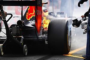 F1 Noticias de última hora Red Bull explica el incendio en los frenos de Verstappen