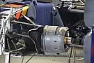 Analisis teknis ringkas: Brake duct depan memanjang dari Toro Rosso
