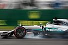 Hamilton logra la pole en México y Rosberg resiste en el último instante