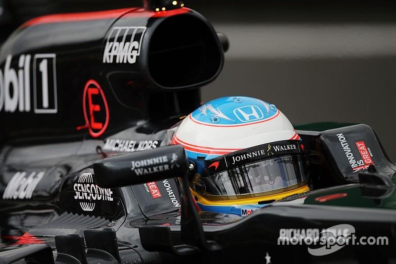 El 'cirujano' Alonso, muy satisfecho con su posición de salida