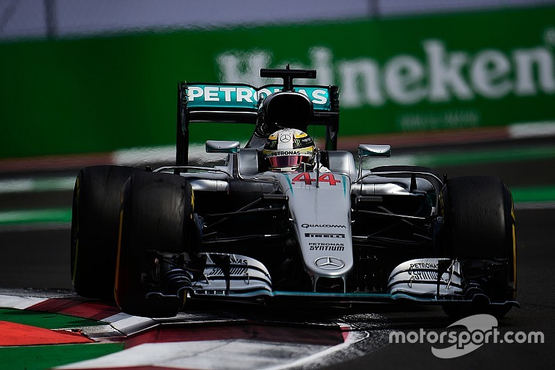 Mercedes a pris un risque avec la suspension de Hamilton à Mexico