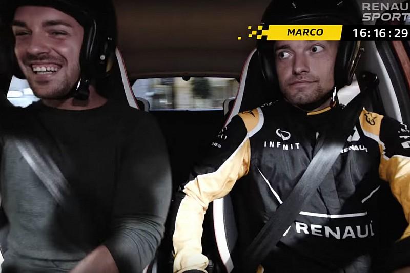 Quand Jolyon Palmer s'amuse en Twingo GT
