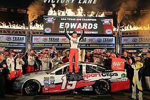 NASCAR Cup Rennbericht Unter Texas-Regen: Sieg und NASCAR-Finaleinzug für Carl Edwards