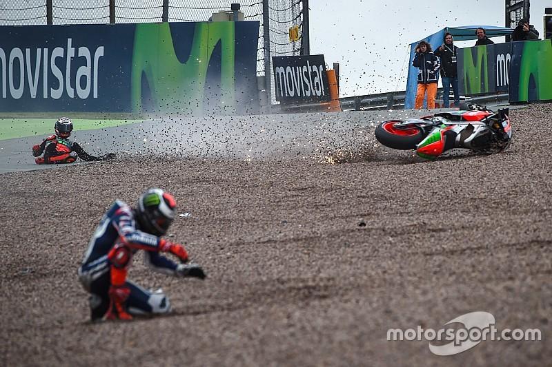 Voor het eerst meer dan 1.000 crashes in MotoGP-seizoen
