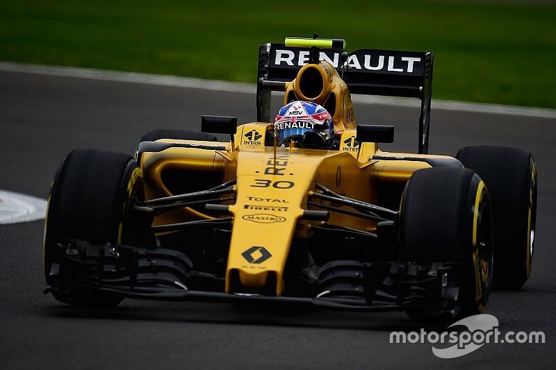 Palmer va conserver son baquet chez Renault