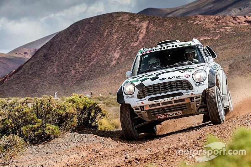 Dakar 2017: Mikko Hirvonen fährt wieder für X-Raid