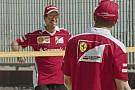 Video: Vettel y Raikkonen se enfrentan en un partido de voley playa