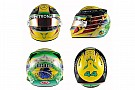 Hamilton homenageia Senna em capacete para GP do Brasil