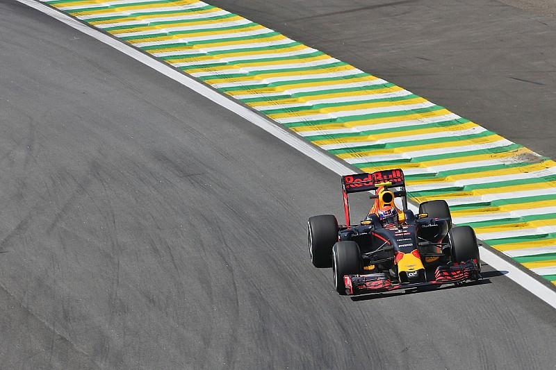 Verstappen fractie langzamer dan Hamilton in eerste training Brazilië