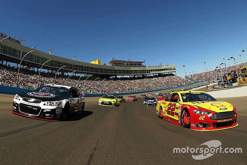 """Logano on another Harvick win at Phoenix: """"It isn't a given for him"""""""