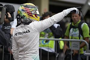 Fórmula 1 Relato de classificação Hamilton supera Rosberg e crava pole 60 em Interlagos