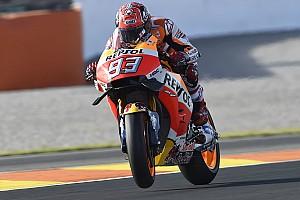 MotoGP Practice report MotoGP Valencia: Marquez tercepat di WUP, Lorenzo ketujuh