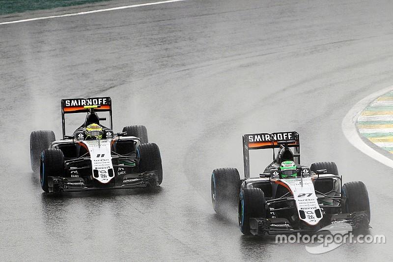 【F1】フォースインディア、ランキング4位に王手。ヒュルケンベルグまたも不運で表彰台を逃す