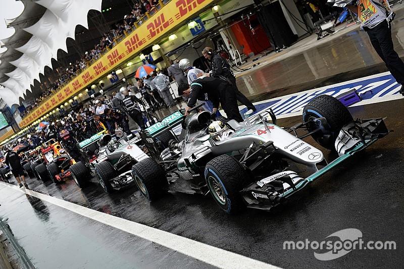 Остановка гонки в Сан-Паулу помогла Mercedes сделать дубль