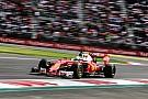 Ferrari n'a pas confirmé son appel pour la pénalité de Vettel à Mexico