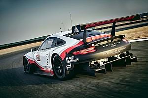 IMSA Actualités Porsche dévoile la nouvelle 911 RSR 2017