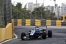 Macau GP: Voorlopige pole voor Felix da Costa na incidentrijke sessie