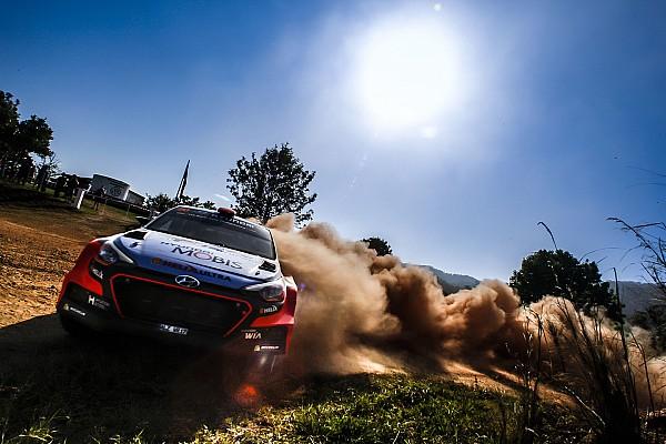 Dani Sordo sufre con los neumáticos en Australia