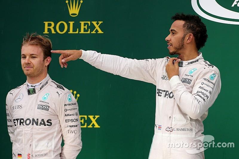 """Horner: """"Hamilton heeft niets te verliezen, Rosberg alles"""""""