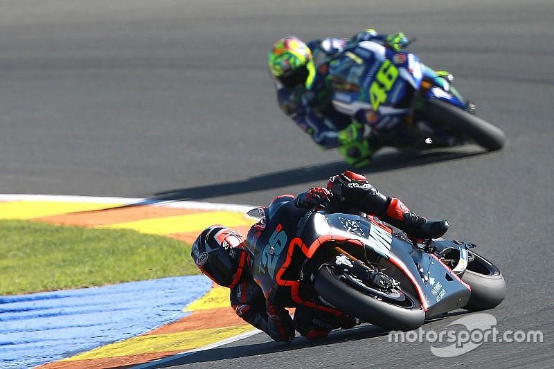 Em testes privados, Viñales se diz feliz com Yamaha