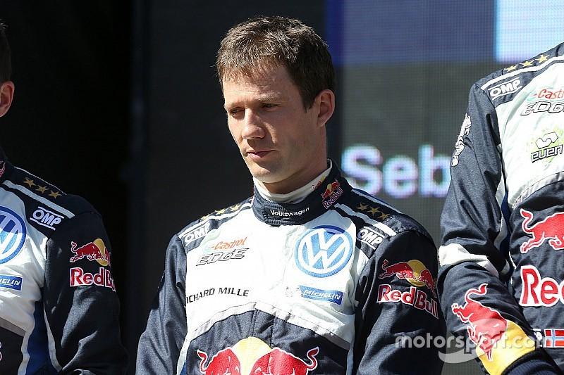 """奥吉尔完成丰田WRC赛车""""试驾"""""""