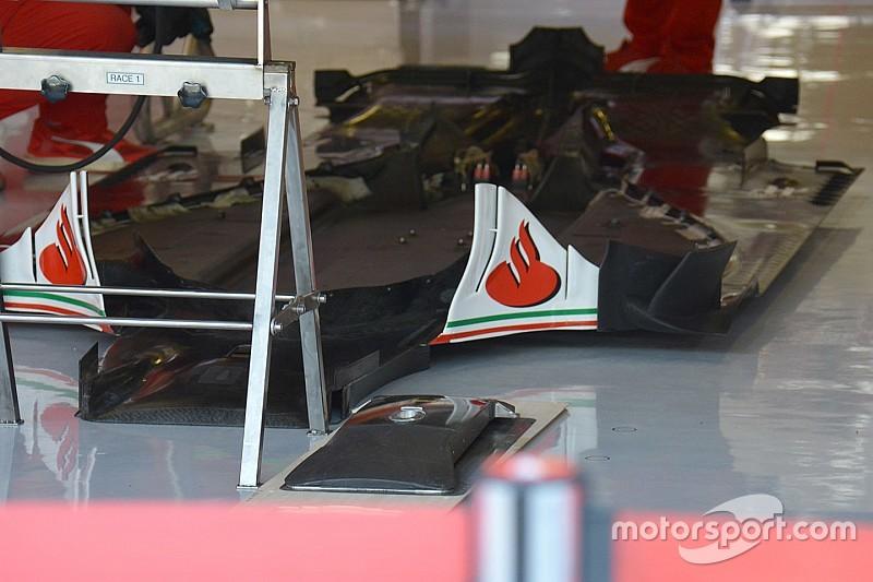Tech update: Een blik op de vloer van de Ferrari SF16-H