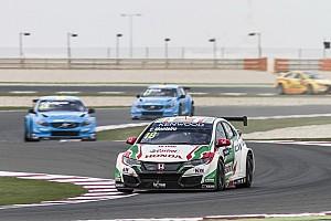 WTCC Reporte de prácticas Monteiro fue el más rápido en el segundo entrenamiento de Qatar