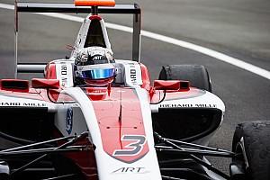 GP3 Отчет о тренировке Элбон показал лучшее время тренировки GP3 в Абу-Даби