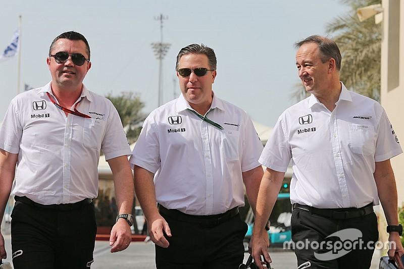 """Brown: """"Vóór 2018 geen nieuwe hoofdsponsor bij McLaren"""""""