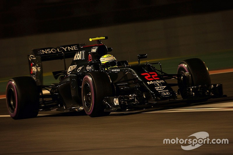 Button disfrutó de su última clasificación, a pesar de quedarse fuera de Q3