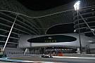 La parrilla de salida del GP de Abu Dhabi en imágenes