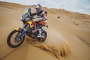 El campeón del Dakar, Toby Price, renueva con KTM hasta 2019
