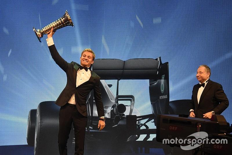 """Rosberg: """"Niet gestopt als ik geen wereldkampioen was"""""""