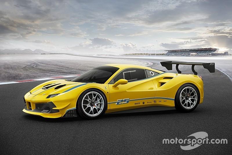 Ferrari présente la nouvelle 488 Challenge