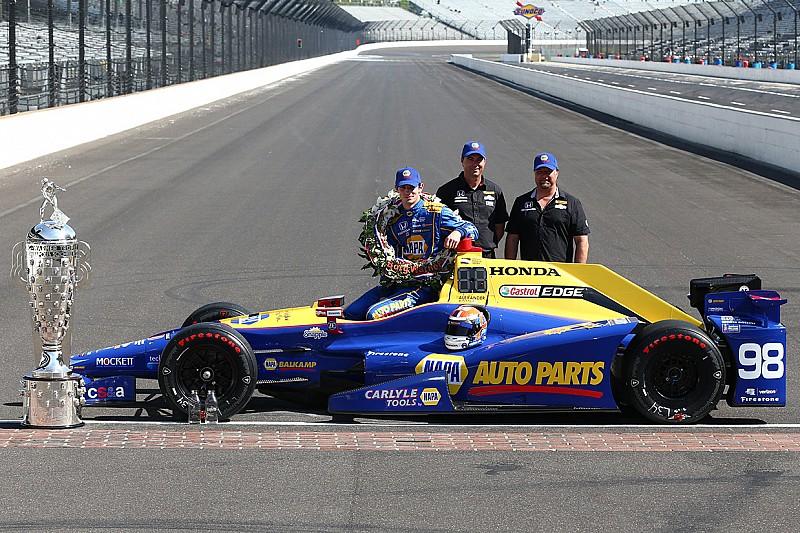 Auto ganador de Alexander Rossi entrará al Museo de Indianápolis