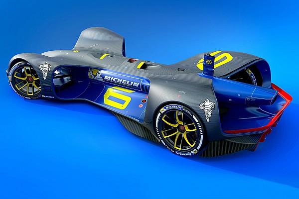 Roborace anuncia Michelin como fornecedora de pneus