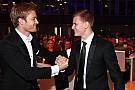 Nico Rosberg y Mick Schumacher, juntos en los premios ADAC