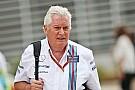 Williams neemt afscheid van hoofd technische zaken Symonds