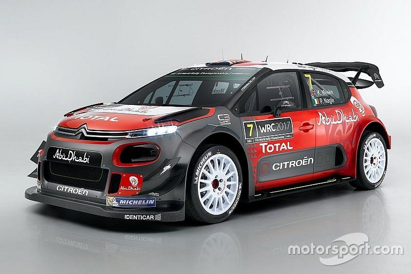 Citroën präsentiert neues Fahrzeug für die WRC 2017