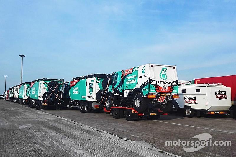 El equipo Petronas De Rooy Iveco es el favorito