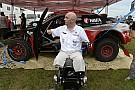 La epopeya de competir en el Dakar sin brazos ni piernas